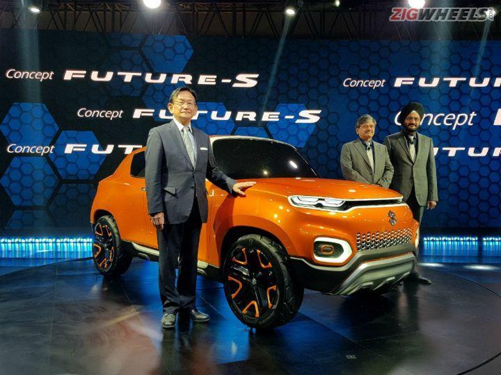 Maruti Suzuki Concept Future S At Auto Expo 2018