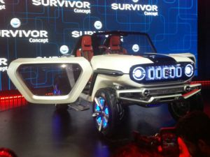 Suzuki e-Survivor Turns Heads At Auto Expo 2018