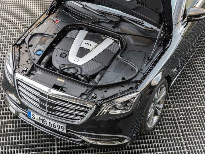 Mercedes-Maybach S650 engine bay