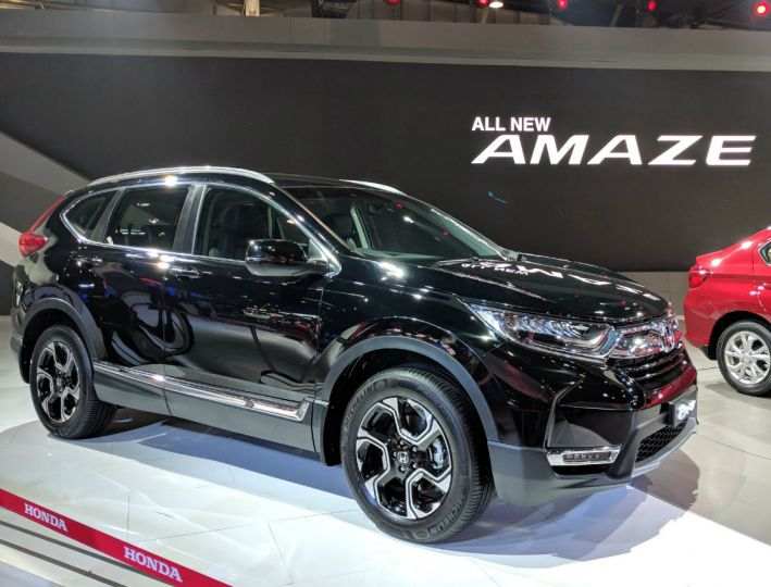 Honda CR-V Showcased At Auto Expo 2018
