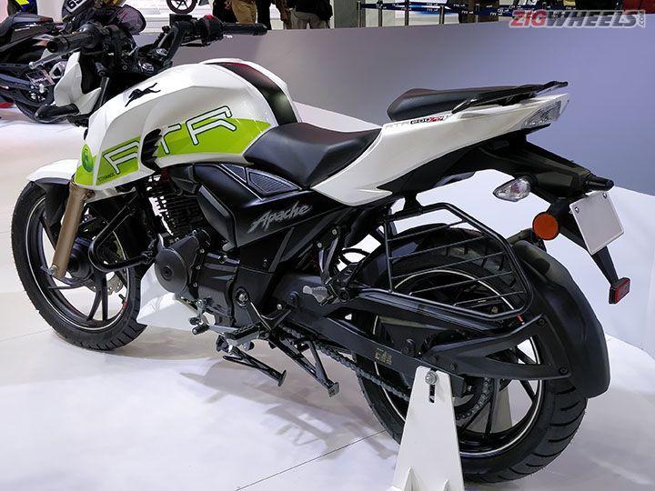 TVS RTR 200 Fi Ethanol