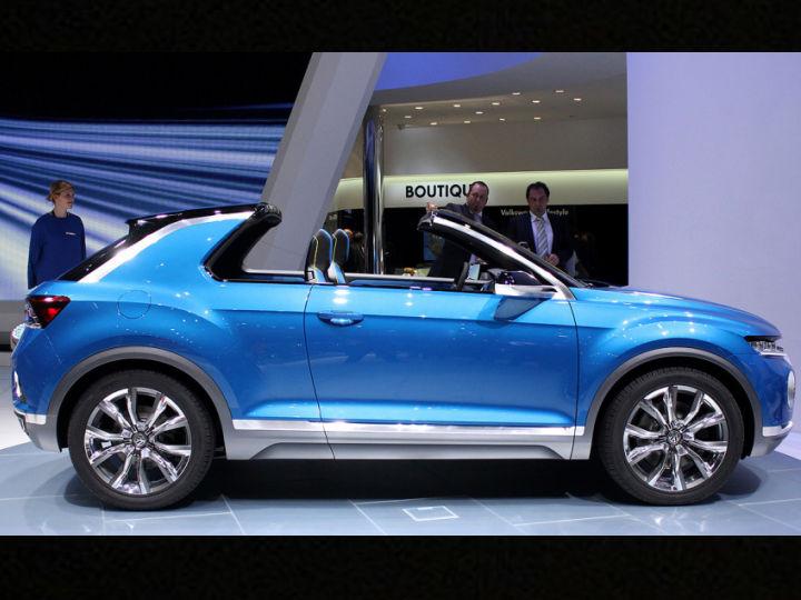 Volkswagen Confirms T Roc Convertible Suv For 2020 Zigwheels
