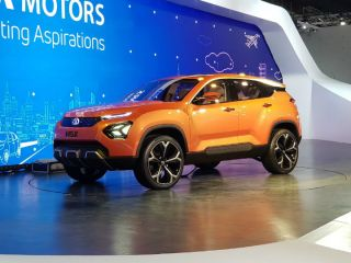 Tata H5X Concept SUV Revealed At Auto Expo 2018