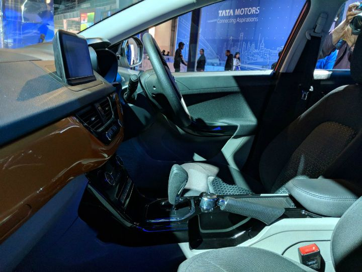 Image result for auto expo 2018 TATA NEXON AMT INTERIOR