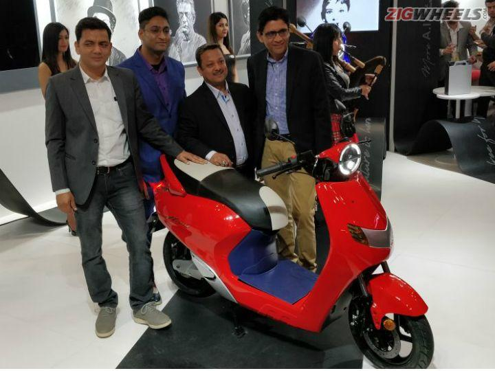 Twenty Two Motors Flow Launched At Auto Expo 2018