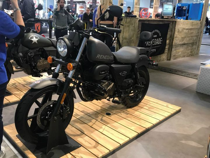 UM Renegade Duty launched at Auto Expo 2018