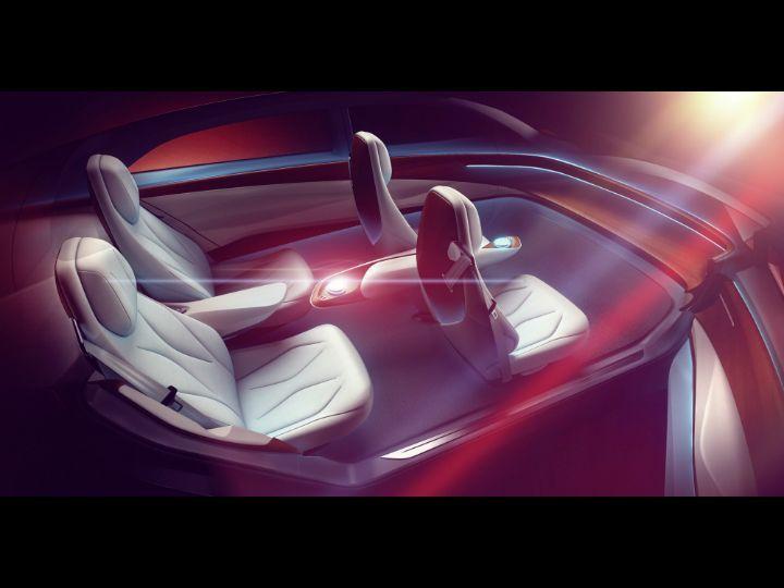 Volkswagen I.D. Vizzion Concept 2018 Geneva Motor Show