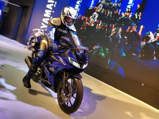Yamaha R15 Version 3.0 Launched At Rs 1.25 lakh At Auto Expo 2018