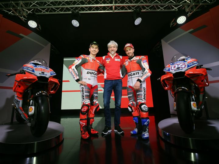 Ducati GP Unveils New MotoGP Livery For 2018
