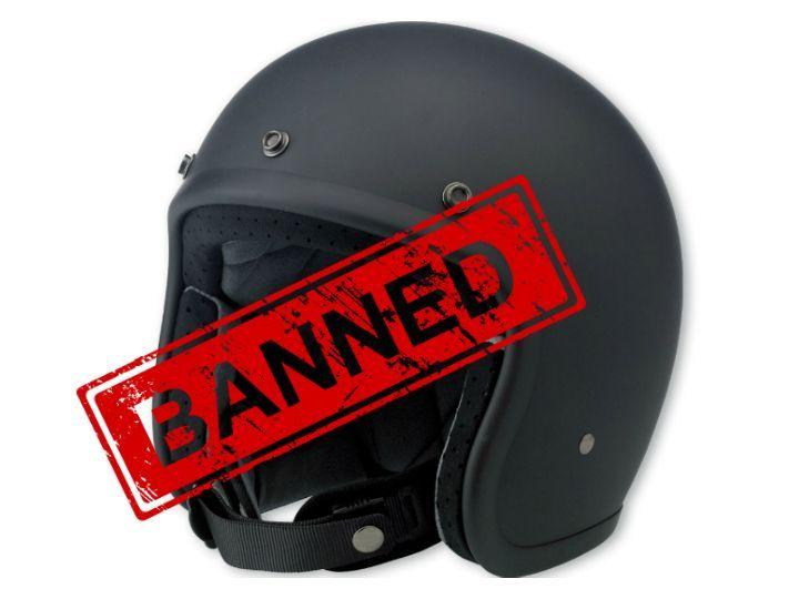 Half Face Helmets Banned In Bengaluru And Mysuru