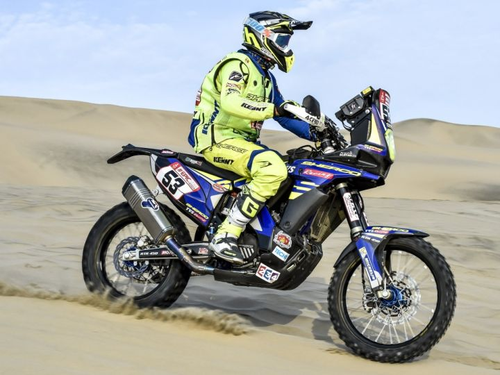 Dakar Rally stage 3 report