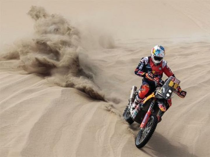 Dakar Rally stage 3 report