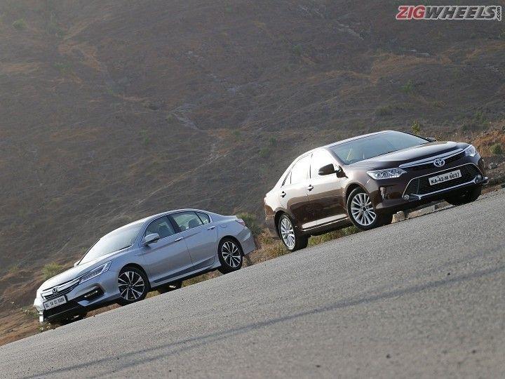 Honda Accord Hybrid and Toyota Camry Hybrid