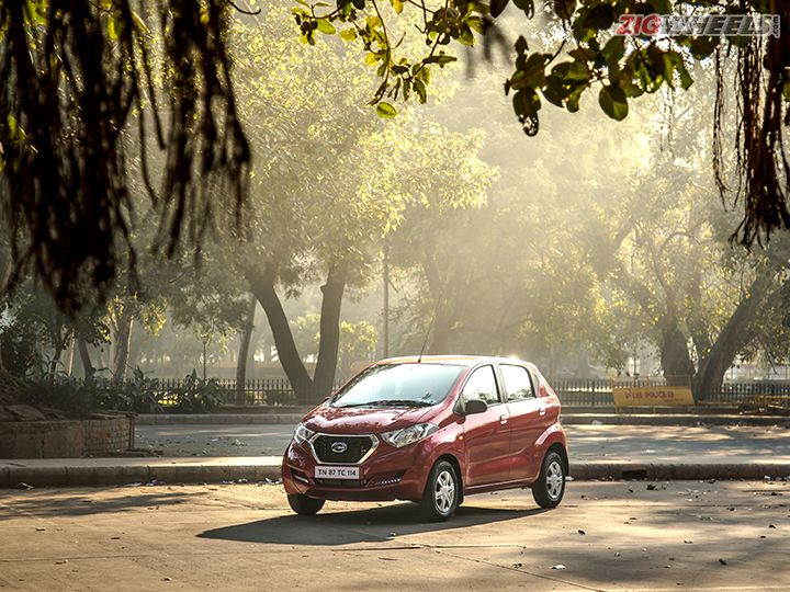 Datsun redi-GO AMT First Drive Review