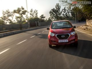 Datsun redi-GO 1.0 AMT: First Drive Review