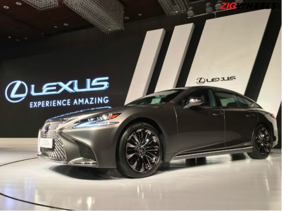 Lexus LS500h Launched, Priced From Rs 1.77 Crore