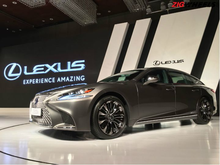 Lexus LS 500h Launched in India
