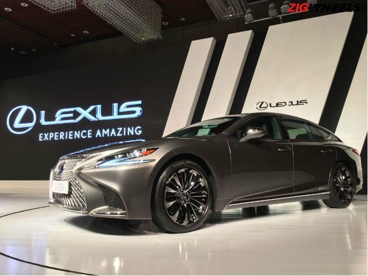 Lexus ls500h launched priced from rs crore zigwheels for Garage lexus paris