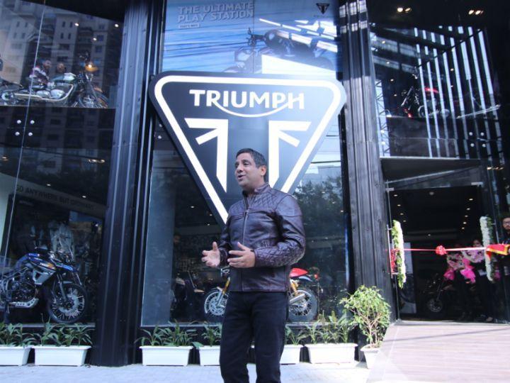 Triumph Opens 15th Dealership In India