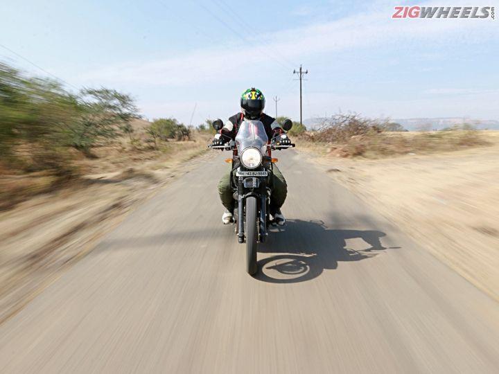 Royal Enfield Himalayan Fi Road Test Review Zigwheels