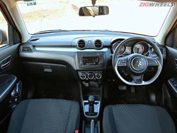 new Maruti Suzuki Swift cabin