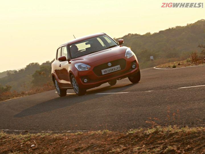 new Maruti Suzuki Swift cornering