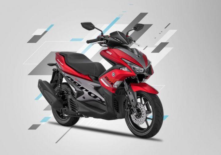 Yamaha Aerox 155 Scooter Spotted In India Zigwheels