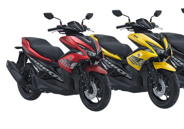 Yamaha Aerox 155 scooter Spotted In India - ZigWheels
