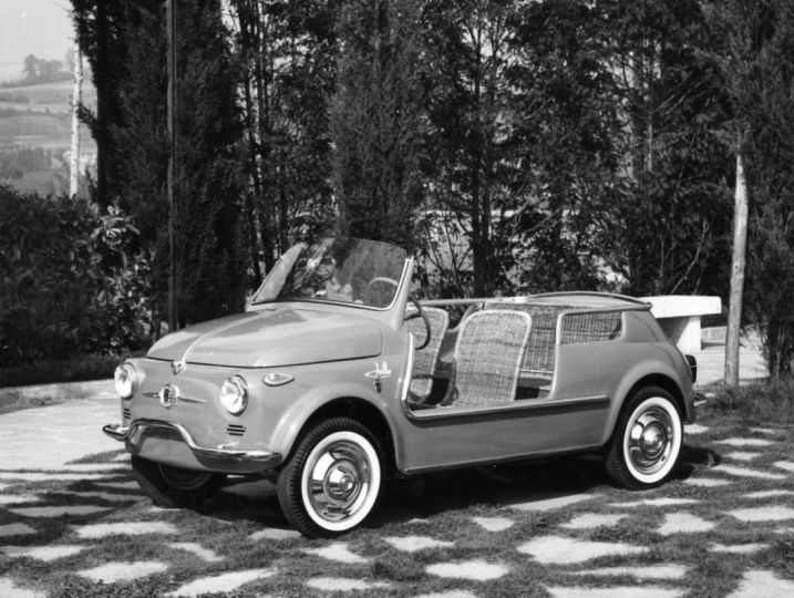 Fiat 500 Spiaggina 58 Is A Tribute And A Celebration Zigwheels