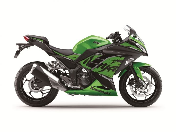 2018 Kawasaki Ninja 300 ABS localised for India