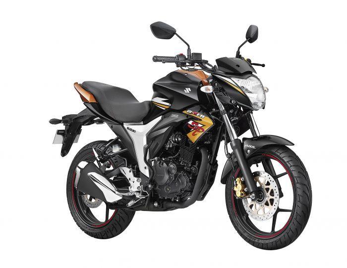 2018 Suzuki Gixxer SP front