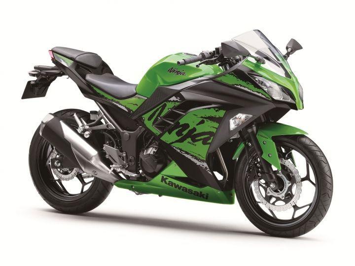 2019 Kawasaki Ninja 300 front