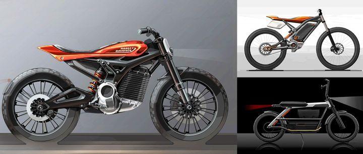 Harley-Davidson Electric Lineup