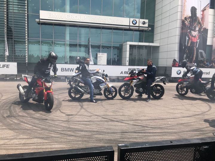 Made BMW bike rolls in at Rs 3 lakh