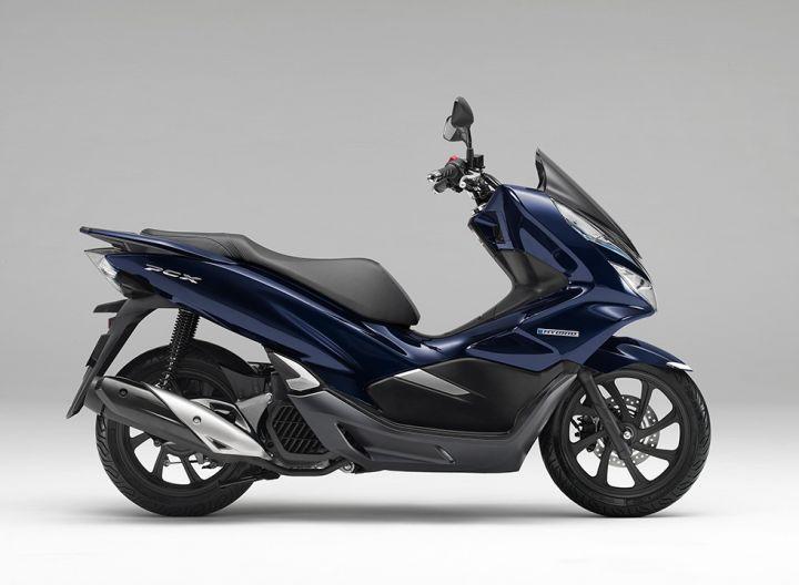 Honda PCX Hybrid side