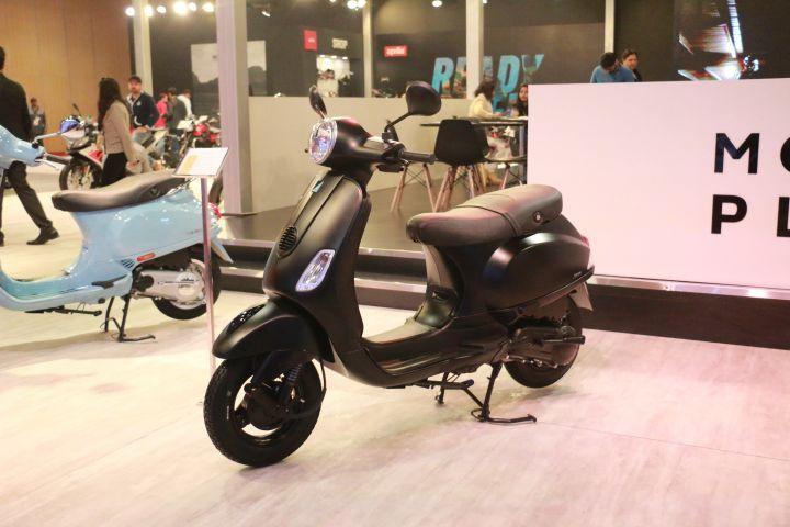 2018 Piaggio Vespa Notte launched