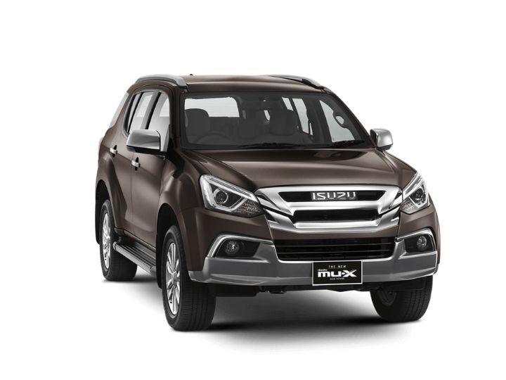 Isuzu MUX Facelift India