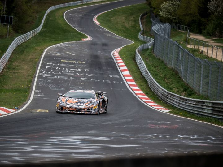 Lamborghini Aventador SVJ Sets Nurburgring Record