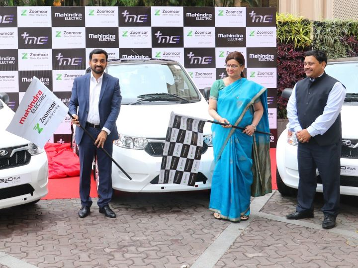 Mahindra E2oplus Now Available On Rent From Zoomcar In Pune Zigwheels