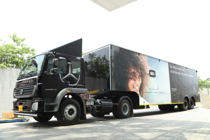 Mercedes-Benz Service on Wheels Launched