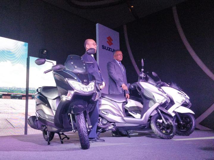 Suzuki Burgman Street Launched In India - ZigWheels