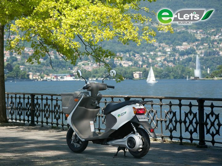 Incoming: An Electric Two-wheeler From Suzuki By 2020