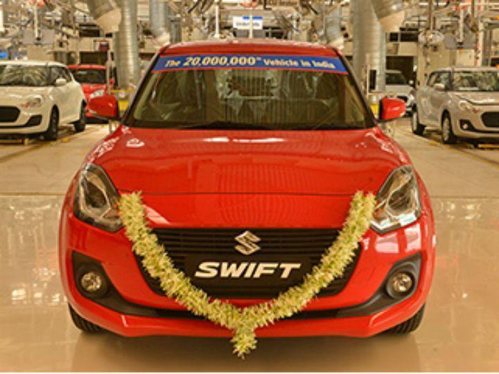 20 Crore Maruti Suzuki Cars