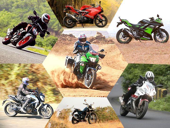 7 Most fuel efficient 300-400cc bikes