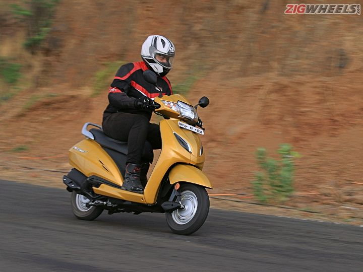 2020 Honda Activa 6g Might Get Connectivity Features Telescopic