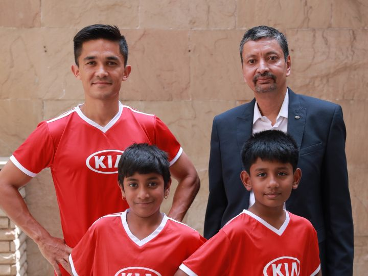 Kia Fulfills The Dream Of 6 Young Indian Footballers