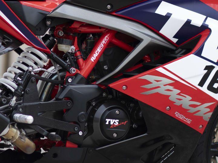Race spec TVS Apache RR 310 engine
