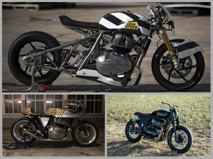 Royal Enfield 650 Twin custom bikes