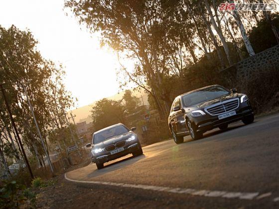 Mercedes-Benz S 350 d Vs BMW 730Ld M Sport: Road Test Comparison Review