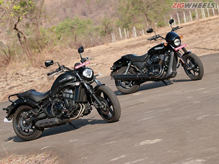 Kawasaki Vulcan S vs Harley-Davidson Street 750